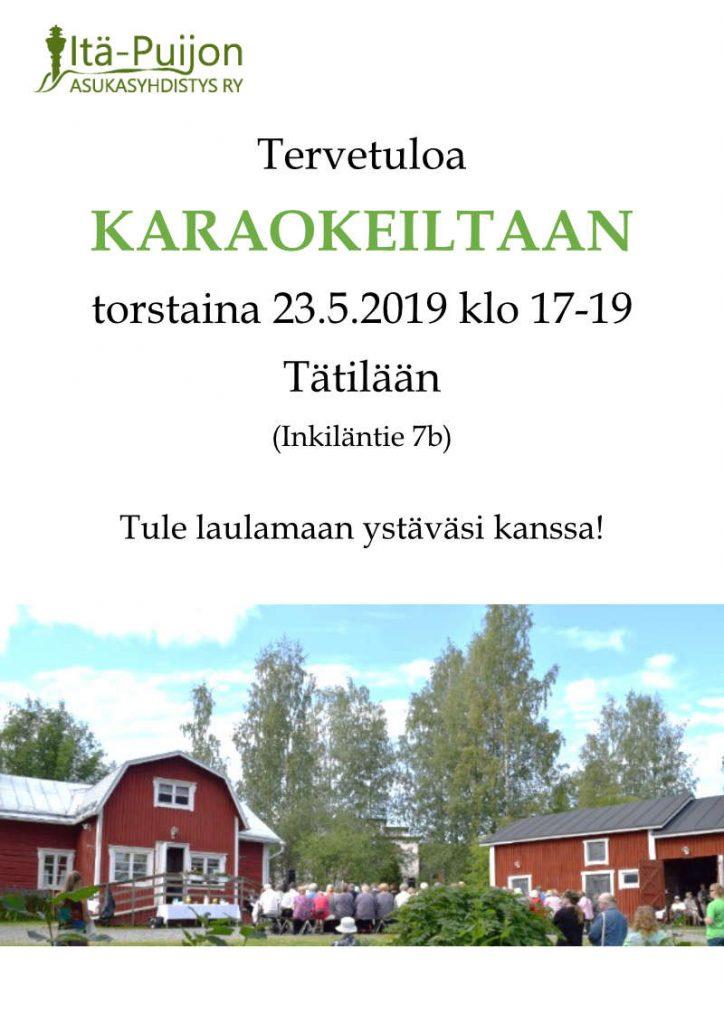 Karaokeilta @ Tätilä